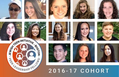2016-17 Jewish Teen Initiative Peer Leadership Fellows