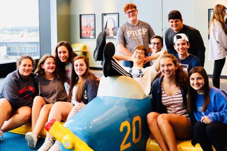 Peer Leadership Fellows National Training Seminar in Baltimore (Photo: Jewish Teen Initiative)