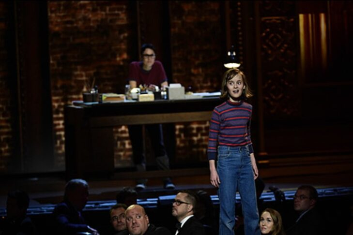 """Sydney Lucas performs """"Ring of Keys"""" from """"Fun Home"""" at the Tony Awards in 2015 (Photo: Heather Wines/CBS)"""