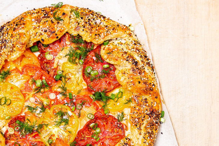 "Jake Cohen's ""Everything Bagel Galette"" (Photo: Matt Taylor-Gross)"