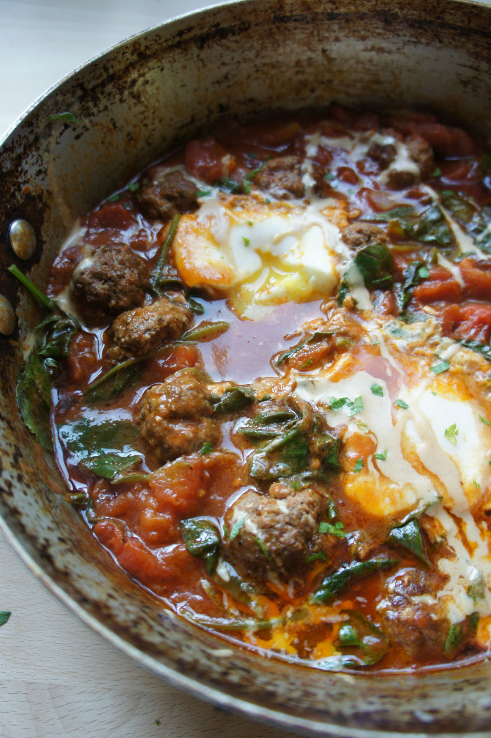 lamb-meatball-shakshuka-the nosher
