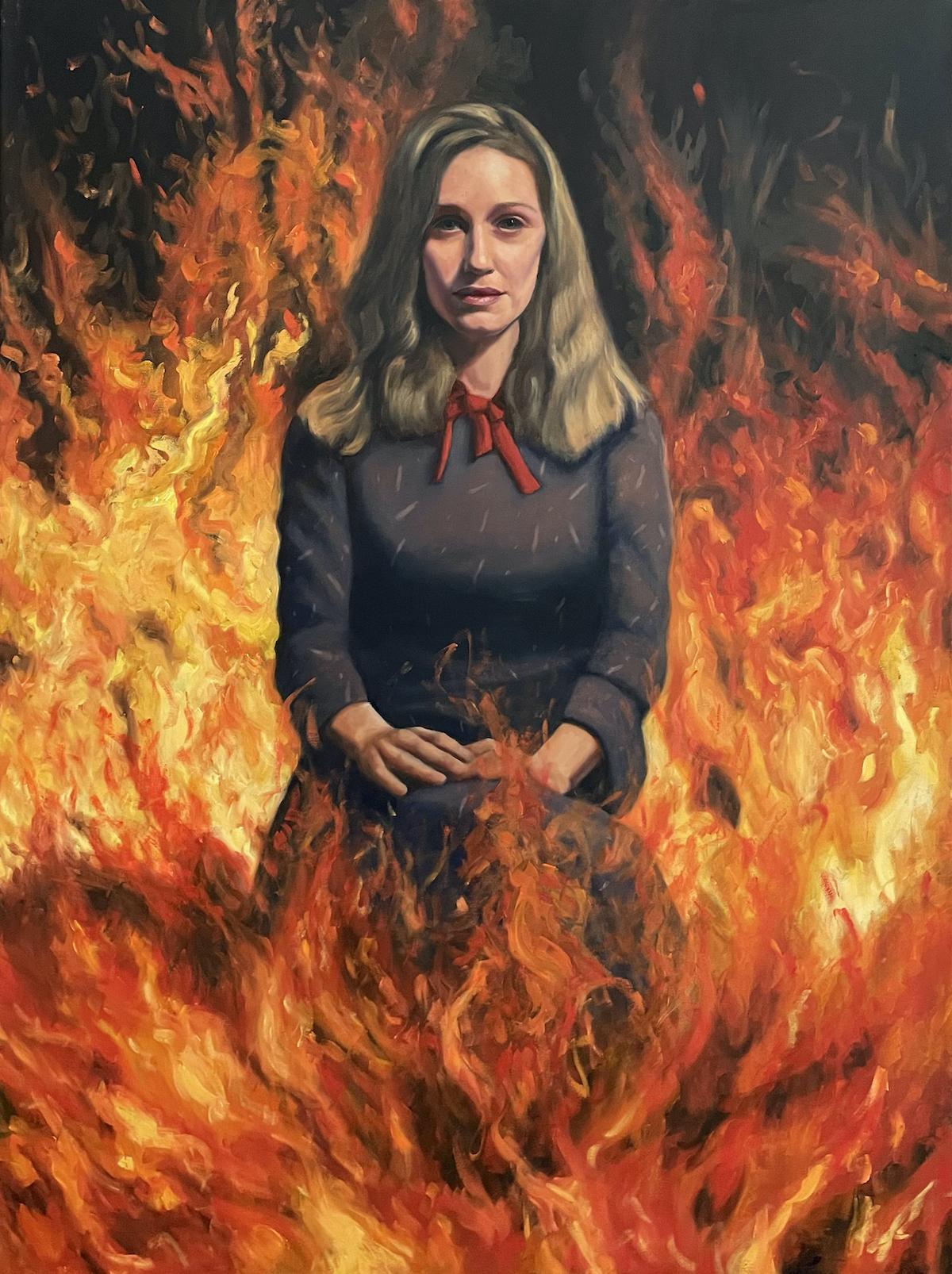 Racheli in flames