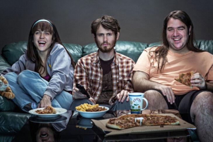 "Naomi Levov, Nir Majar and Ben Yosipovich in ""On the Spectrum"" (Promotional still: Yes Studios/HBO Max)"