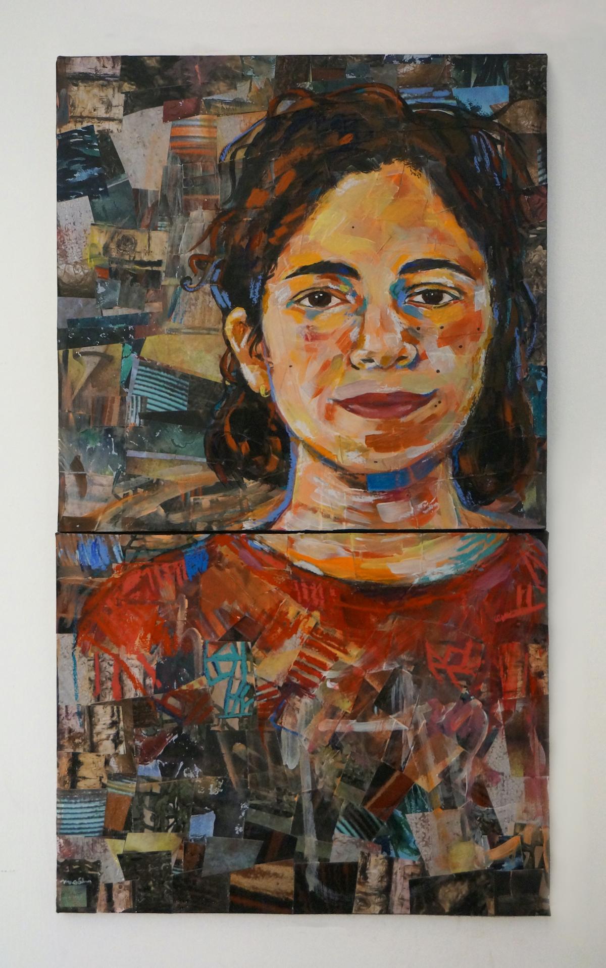 """""""Self-Portrait (Fourth Generation)"""" by Mia Schon (Courtesy Mia Schon)"""