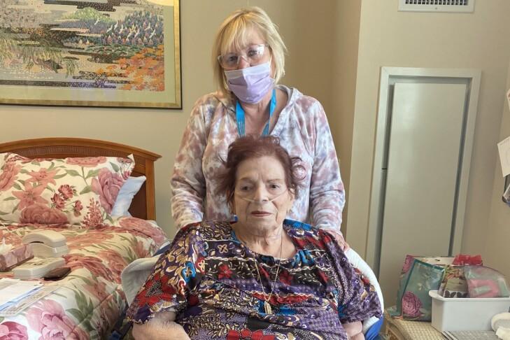 Gail Pearson and Ina Cherkas