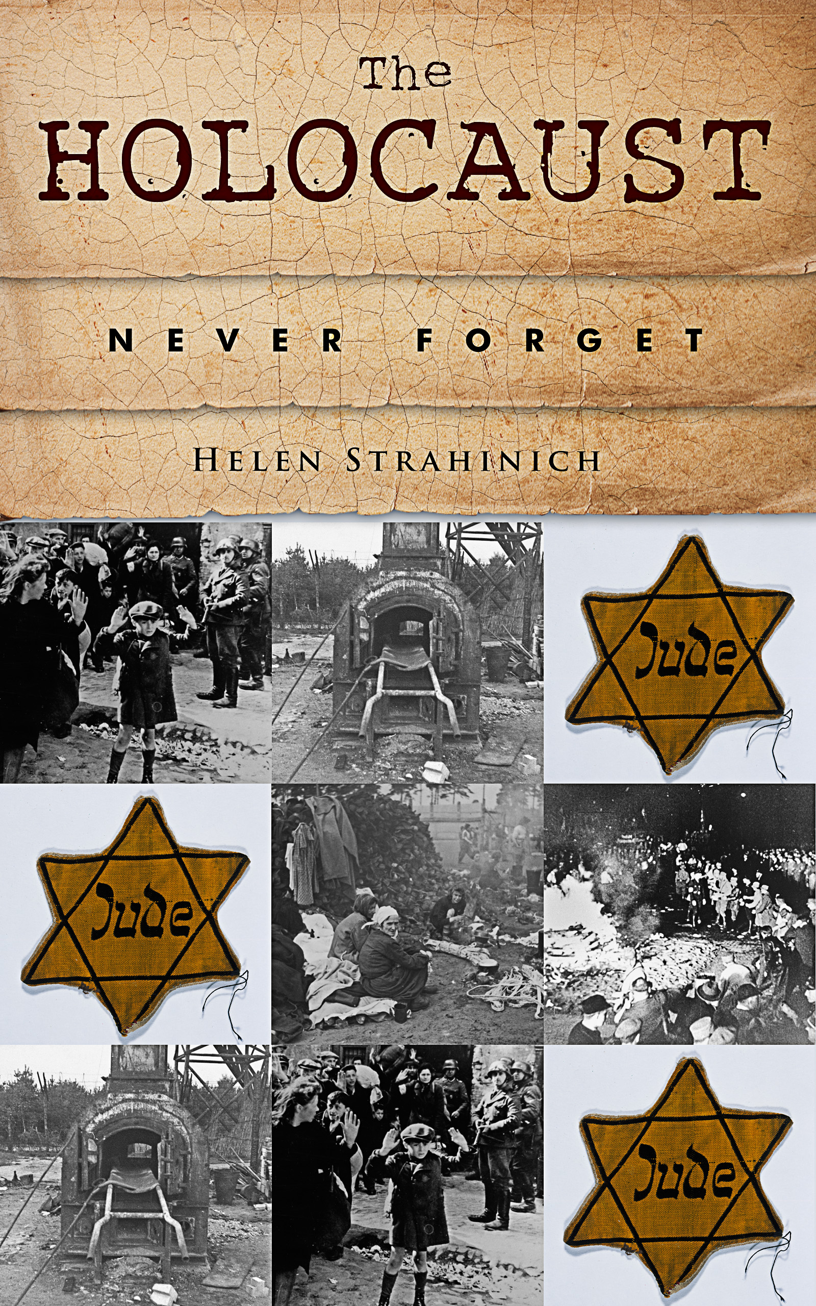"""""""The Holocaust: Never Forget"""" Book Cover"""