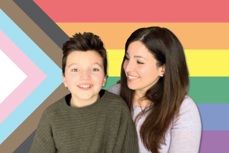 Mimi Lemay and her son Jacob