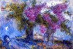 """""""Bouquets de Lilas a Saint-Paul"""" by Marc Chagall"""