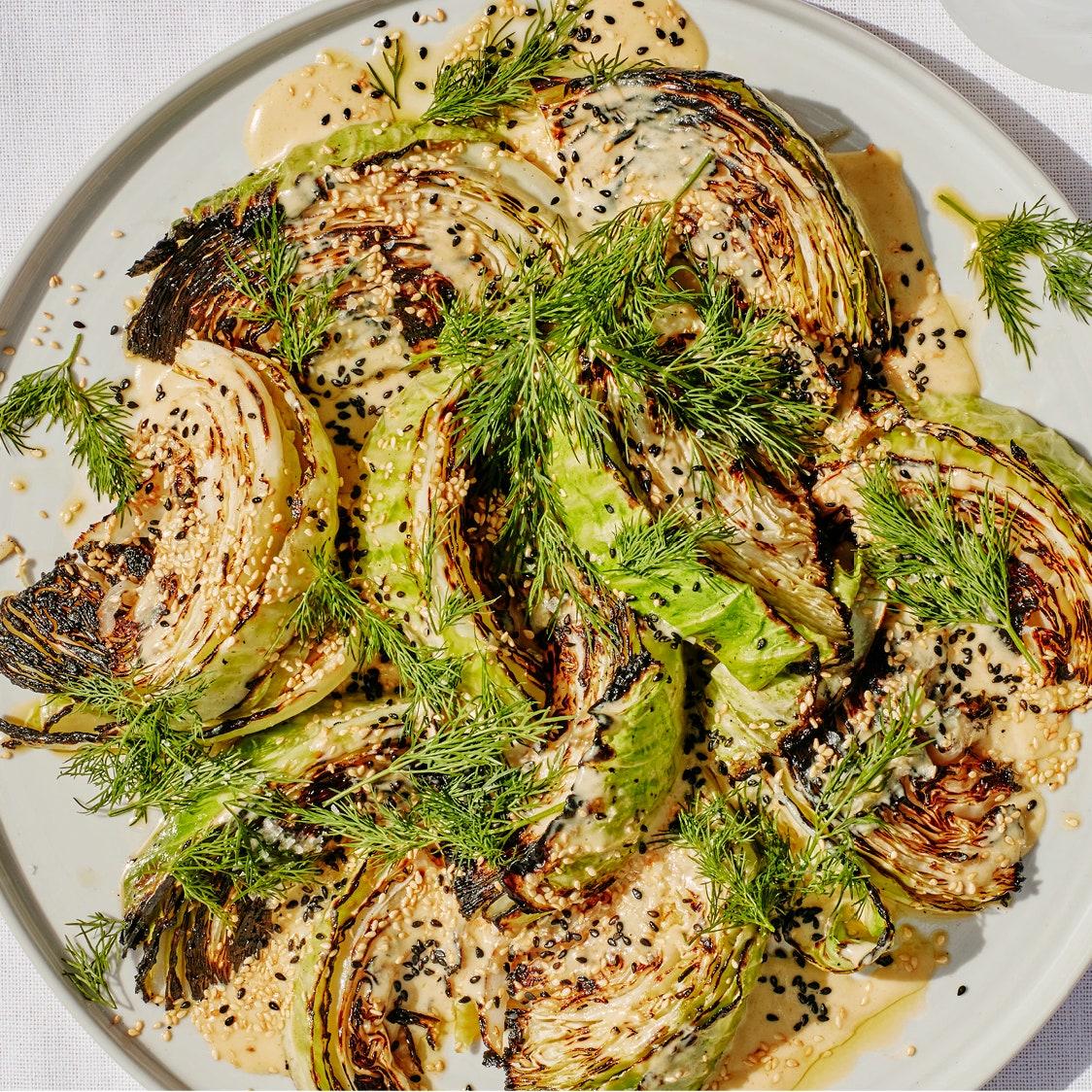 Tahini Cabbage_Emma Fishman_Bon Appetit