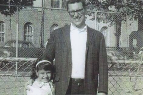 Lesléa Newman and her father, Edward (Courtesy Lesléa Newman)