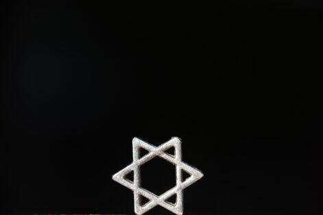 Star of David background