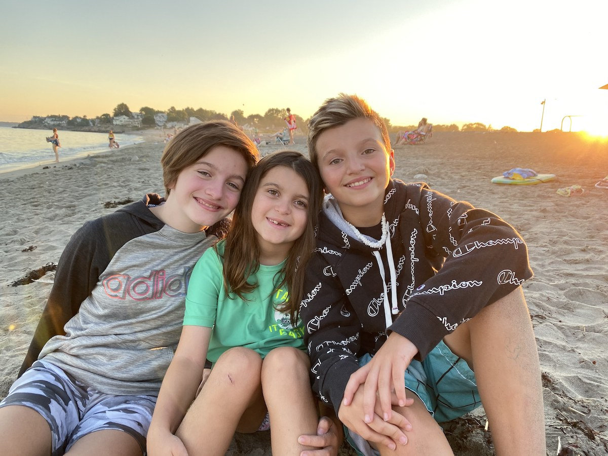 Mimi Lemay's three children, from left, Eli, Lucia and Jacob (Courtesy Mimi Lemay)