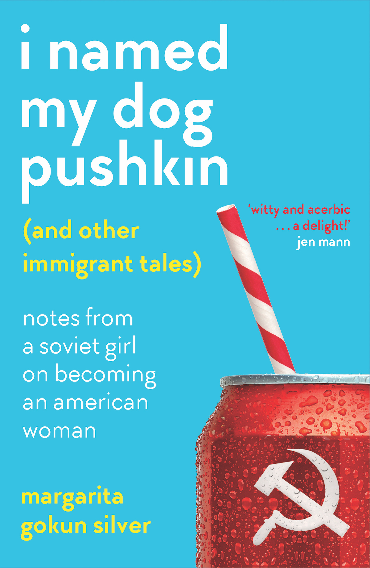 Cover I_NAMED_MY_DOG_PUSKIN with quote CMYK