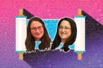 Rabbi Jen Gubitz, right, and Rabbi Jodie Gordon (Image: Miriam Anzovin)