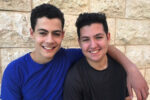 From left: Lev and Sivan Kotler-Berkowitz (Courtesy photo)