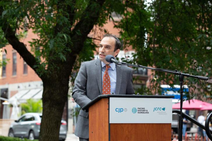 Rabbi Marc Baker, president and CEO of CJP (Courtesy photo)
