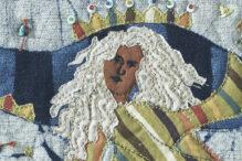 """Hukkat"" (fiber art) by Anita Rabino-Goldman (Courtesy image)"