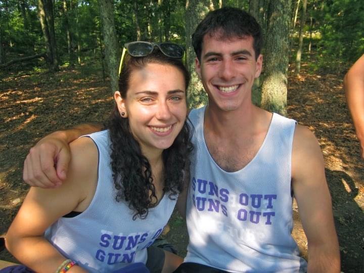 Meira Kruskal and Josh Penzias