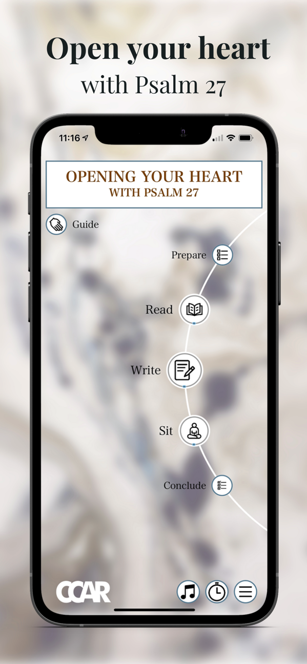 """The """"Psalm 27: Opening Your Heart"""" app (Courtesy CCAR Press)"""