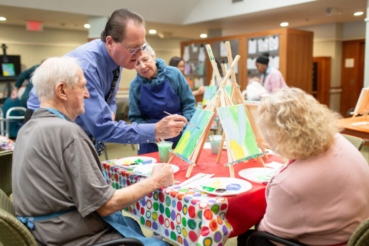 Art Activties at Florence & Chafetz Specialized Care