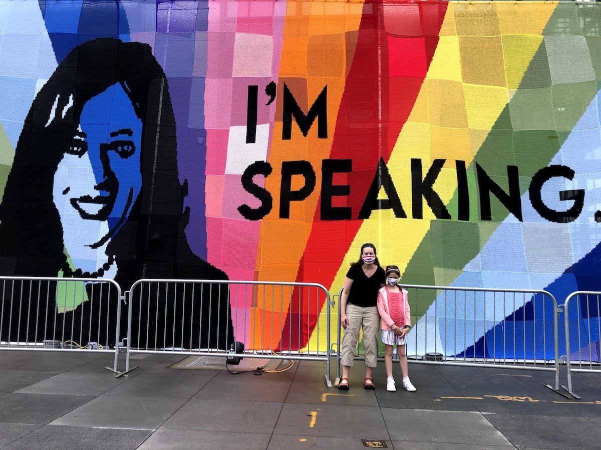 Sarah and Gali Feinberg in Washington, D.C. (Courtesy photo)