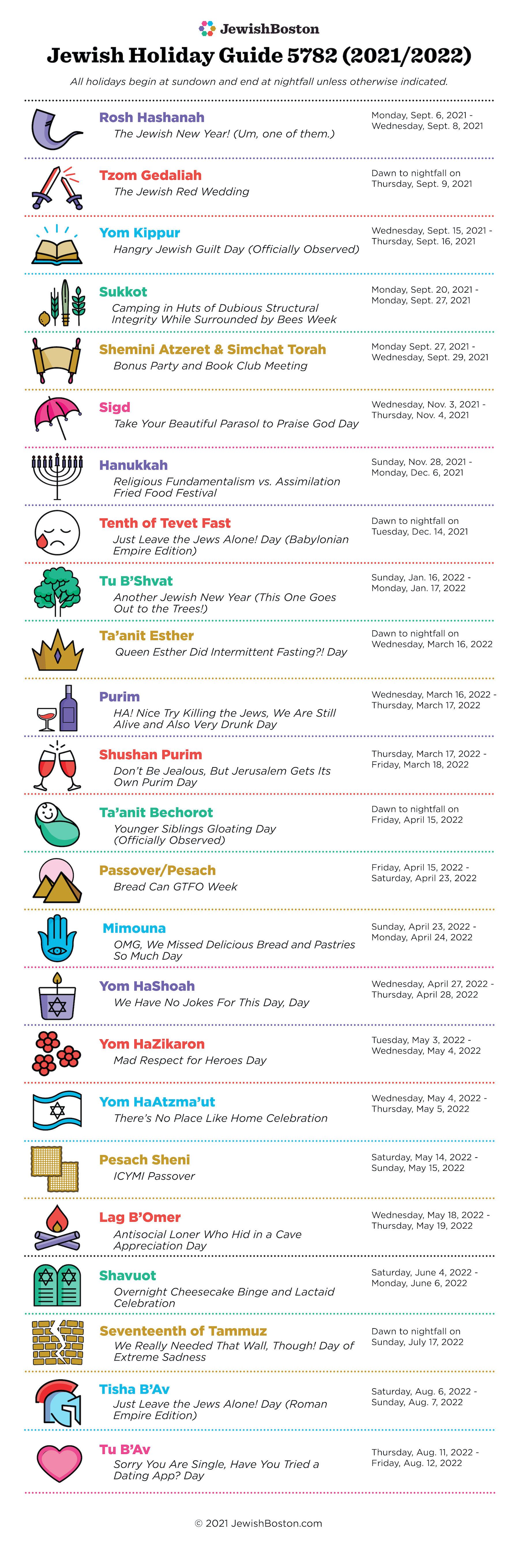 Jewish Holiday Guide 5782 Web