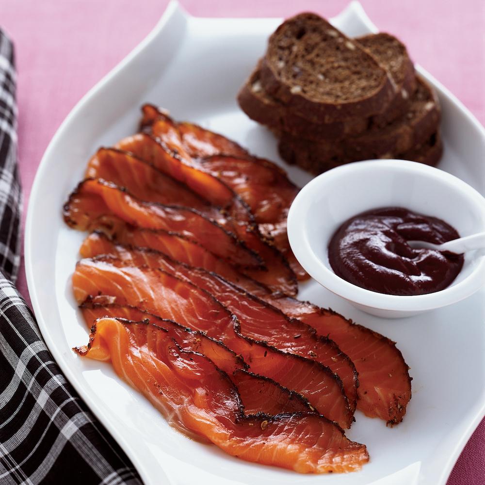 Pastrami-Spiced-Gravlax