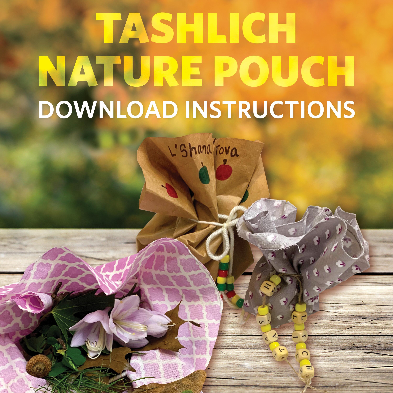 Tashlich nature pouch
