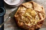 Honey-Apple Galette With Pistachio Sugar