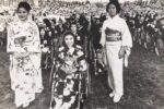 The Japanese delegation at the 1968 Paralympics in Tel Aviv (Courtesy (Israel Sports Association for the Disabled)