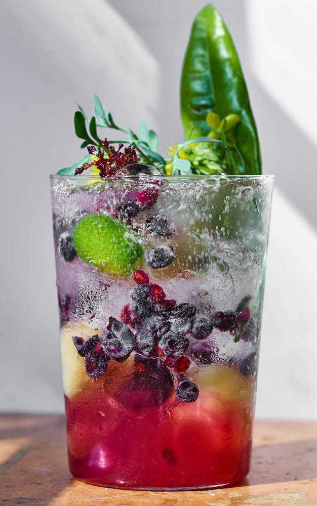 "Muscat grape gazoz from ""Gazoz: The Art of Making Magical, Seasonal Sparkling Drinks"" by Benny Briga and Adeena Sussman (Photo: Dan Perez)"