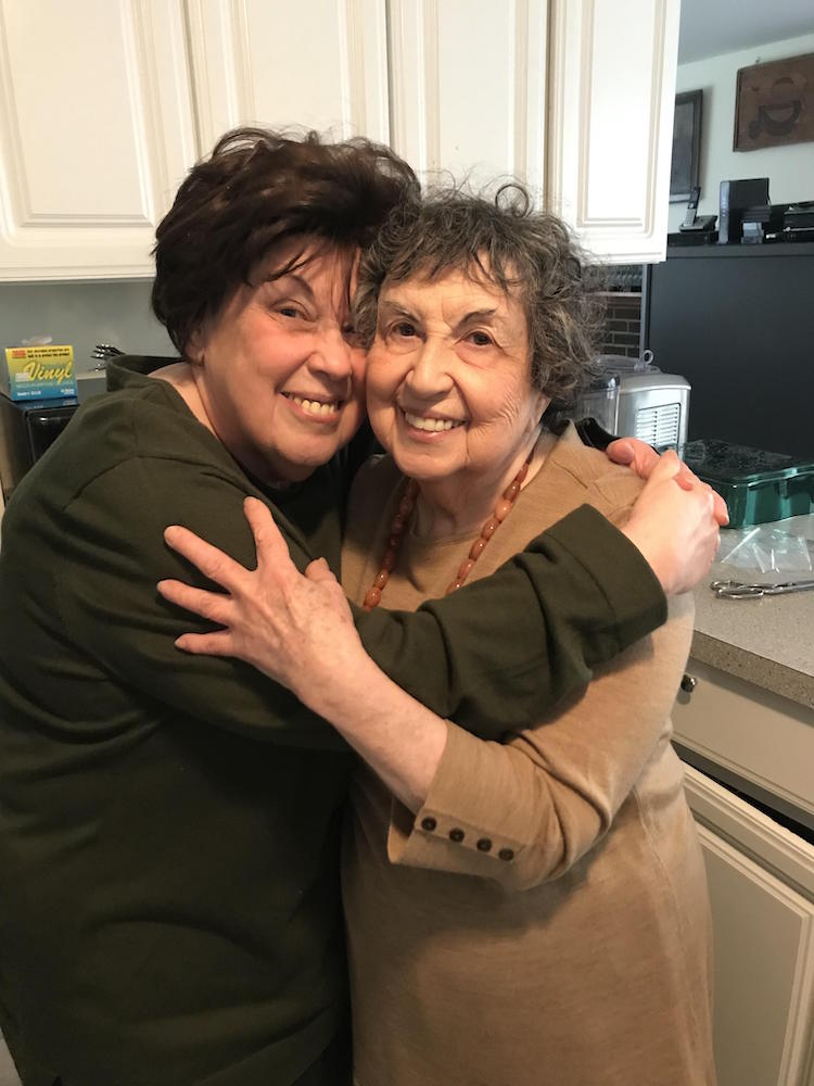 Marilynn (left) and Sheila Brass (Photo: Rachel King)