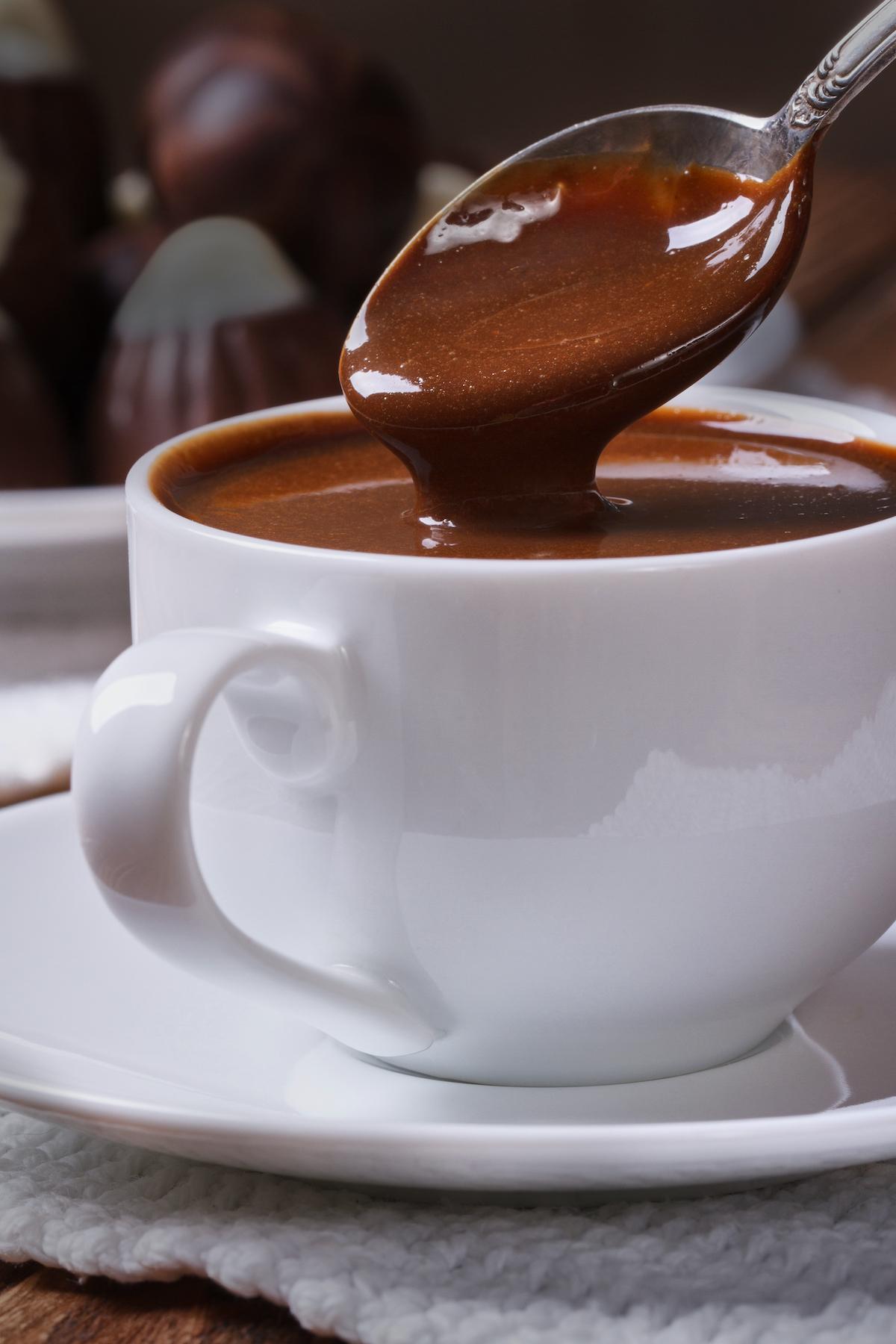 Curaçao hot chocolate